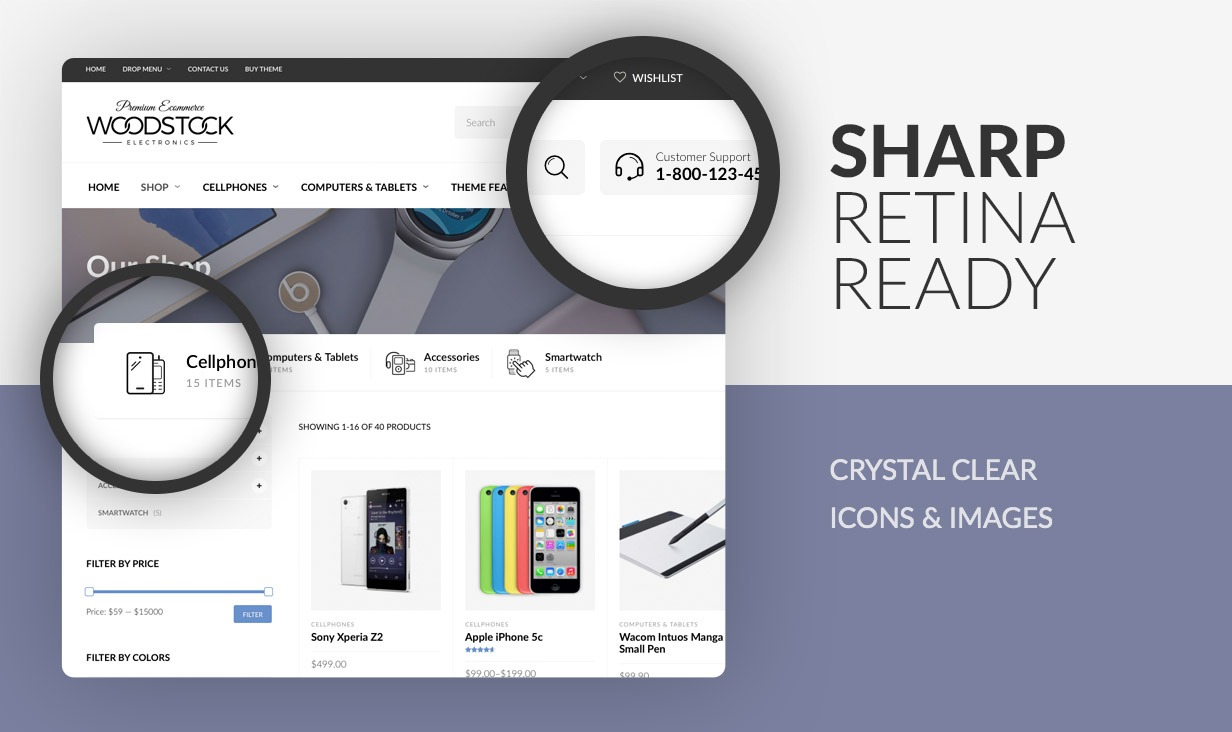 Sharp Retina Ready