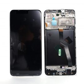 Samsung A10 SM A105F Black, Lcd Screen In Service Pack Ismartfon.pl