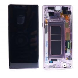Samsung Galaxy Note 9 SM N960F Lavender Lcd Screen In Service Pack Ismartfon.pl