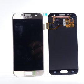 Samsung Galaxy S7 SM G930F Gold Lcd Screen In Service Pack Ismartfon.pl