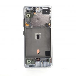 Samsung A51 5g Sm A516b Back Side White, Lcd Screen In Service Pack Ismartfon.pl
