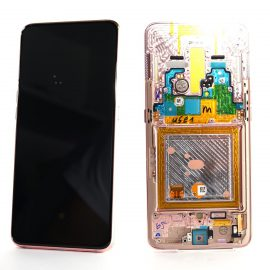 Samsung A80 A805f Gold Lcd Screen In Service Pack Ismartfon