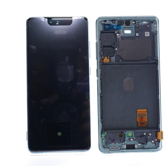 Samsung S20 FE 5G Blue Front And Back, Lcd Screen In Service Pack Ismartfon.pl