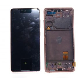 Samsung S20 FE 5G Orange Front And Back, Lcd Screen In Service Pack Ismartfon.pl