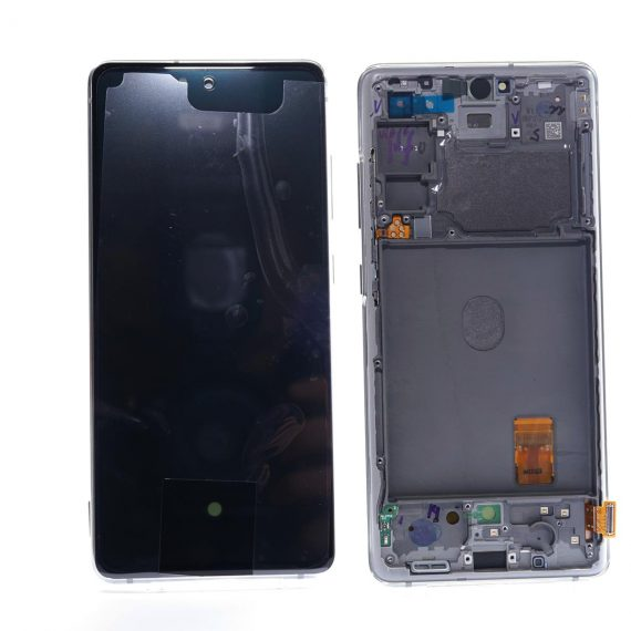 Samsung S20 FE 5G White Front And Back, Lcd Screen In Service Pack Ismartfon.pl