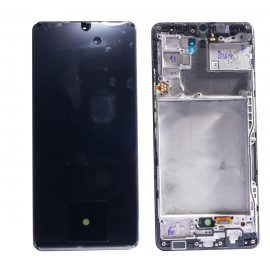 Samsung A42 5g Black A426, Front And Back Side, Lcd Screen In Service Pack Ismartfon.pl
